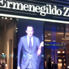 Vitrine de Magasin LED - boutique Ermenegildo Zegna