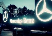 Char vidéo Technoparade Mercedes