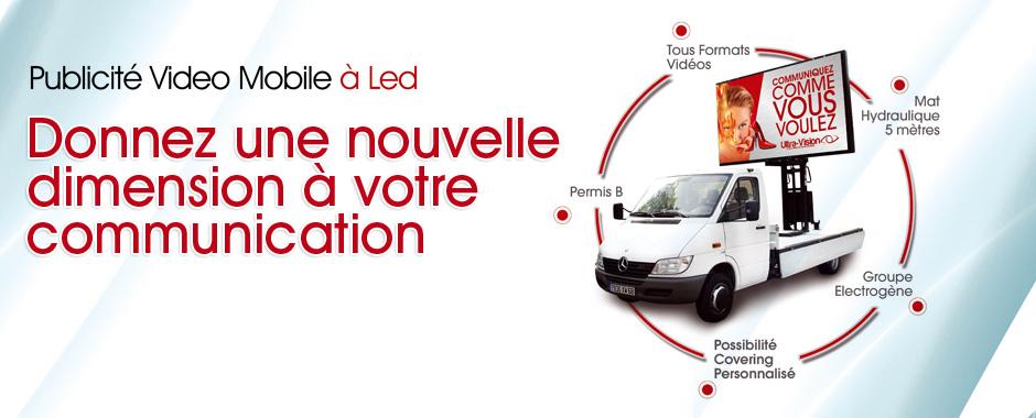 Camion à LED