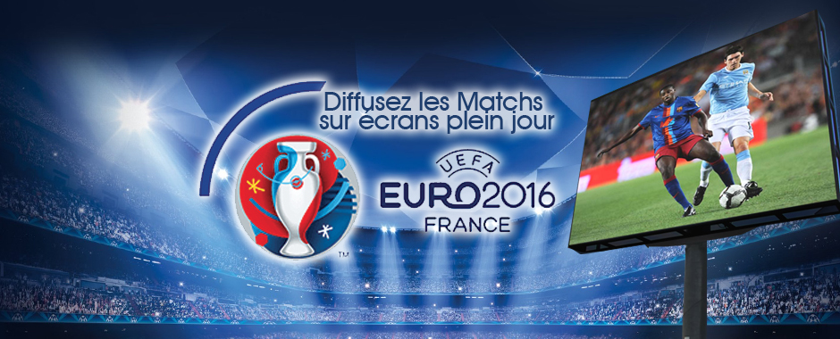 location écran LED euro 2016